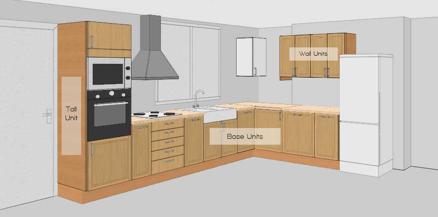Design modular kitchens online for 15 x 9 kitchen layouts
