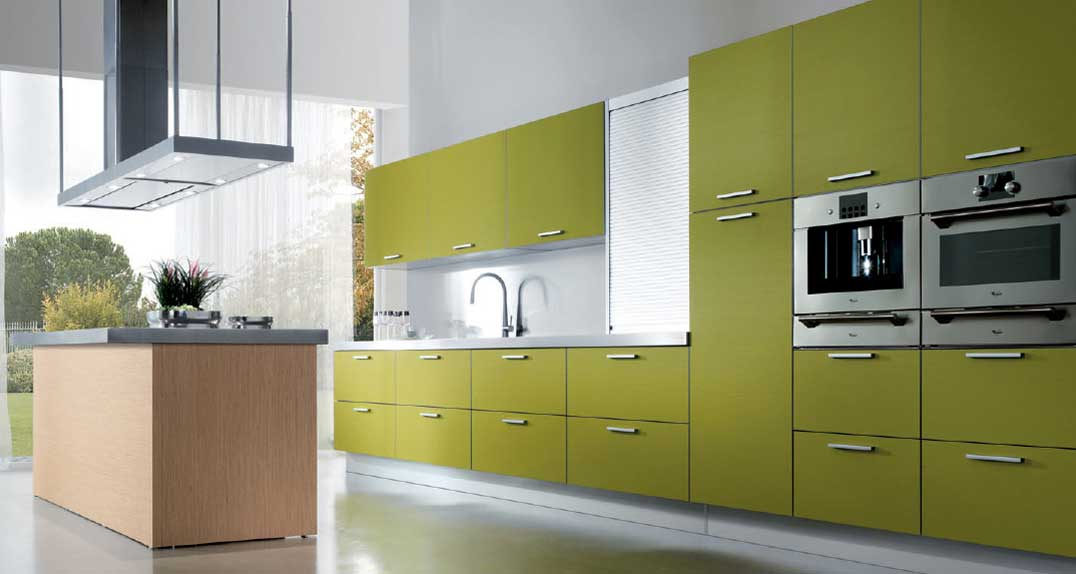 beautiful Design Of Modular Kitchen Cabinets #1: Customfurnish